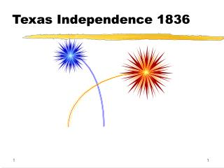 Texas Independence 1836