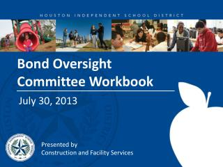 Bond Oversight Committee Workbook