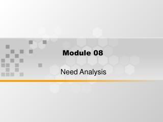 Module 08