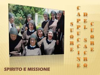 SPIRITO E MISSIONE