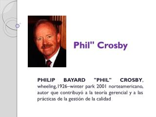 "Phil"" Crosby"