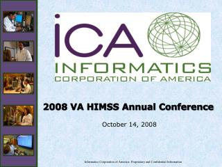 Informatics Corporation of America- Proprietary and Confidential Information