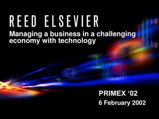 PRIMEX '02 6 February 2002