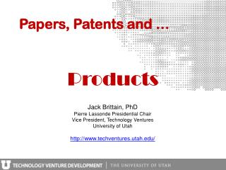 Papers, Patents and …