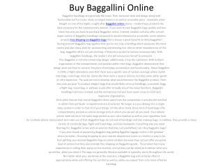 Buy Baggallini Online