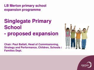 Tom Procter  Manager of Contracts and School Organisation,  Children, Schools & Families Dept.