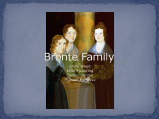 Bronte Family