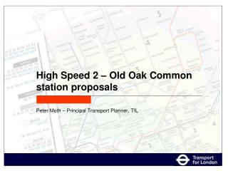 High Speed 2 – Old Oak Common station proposals