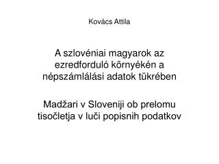 Kovács Attila