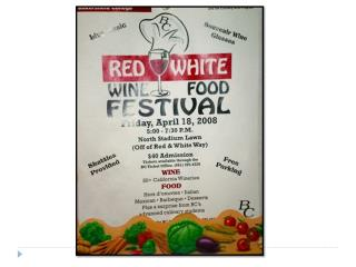Red & White Wine Festival: 2008