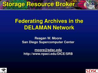 Federating Archives in the DELAMAN Network