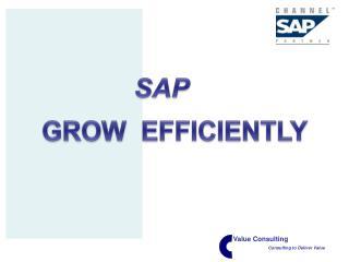 GROW  EFFICIENTLY