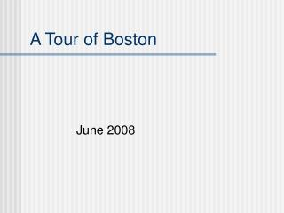 Boston: A Timeless American City