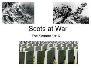 Scots at War