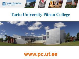 Tartu University Pärnu College