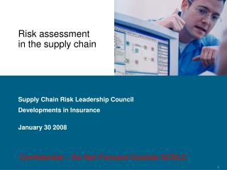 Risk assessment in the supply chain