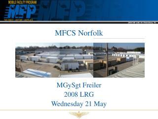 MFCS Norfolk