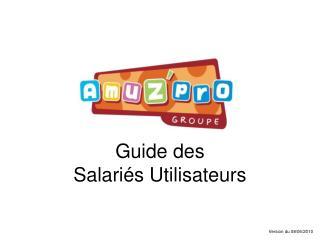 Guide des Salariés Utilisateurs