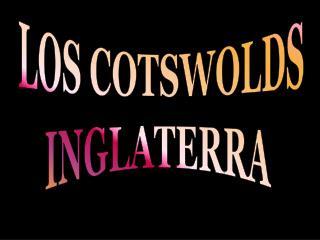 LOS COTSWOLDS INGLATERRA