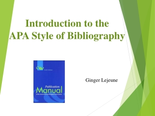 Using APA Style for Academic Writing  Avoiding Plagiarism