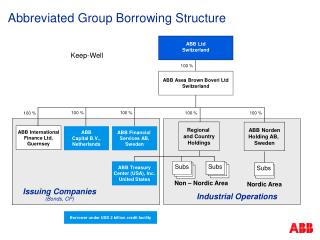 Abbreviated Group Borrowing Structure