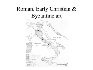 Roman, Early Christian & Byzantine art
