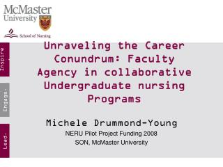 Unraveling the Career Conundrum: Faculty Agency in collaborative Undergraduate nursing Programs