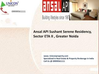 Sushant Serene Residency Greater Noida | Call at 09999561111