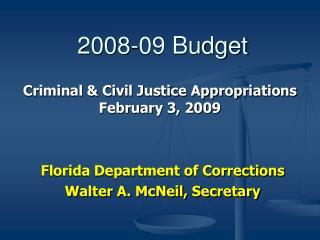 2008-09 Budget