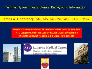 Familial Hypercholesterolemia: Background Information