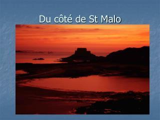 Du côté de St Malo