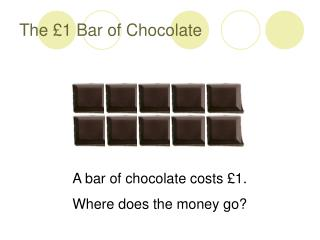 The �1 Bar of Chocolate