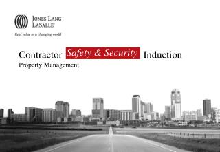 Contractor                                Induction Property Management