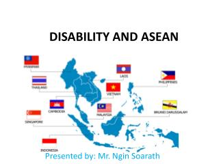 DISABILITY AND ASEAN