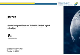 Swedish Trade Council  October 12, 2006