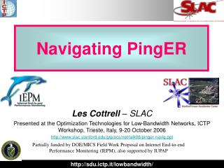 Navigating PingER
