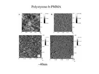 Polystyrene-b-PMMA