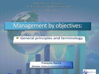 Management by objectives :