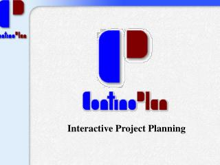 Interactive Project Planning