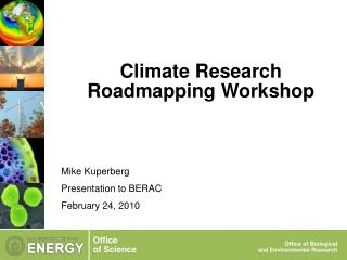 Climate Research Roadmapping Workshop
