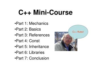 C++ Mini-Course