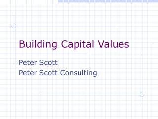 Building Capital Values