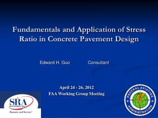 Fundamentals and Application of Stress Ratio in Concrete Pavement Design