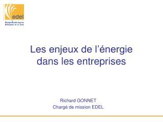 Les enjeux de l'énergie dans les entreprises