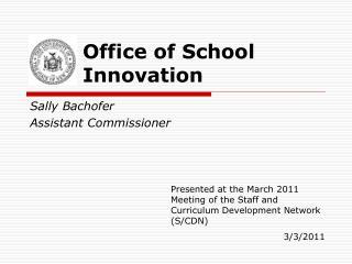 Office of School Innovation
