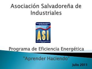 Asociación Salvadoreña de Industriales