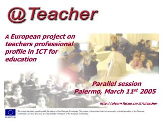 A  European project on teachers professional profile in ICT for education