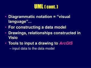 UML  ( cont. )