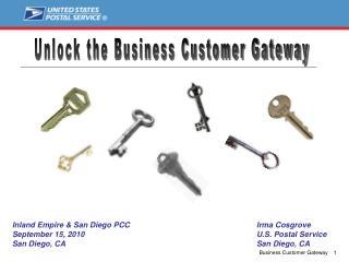 Unlock the Business Customer Gateway