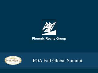 FOA Fall Global Summit